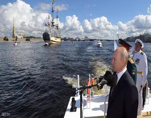 صور.. بوتن يتحدث عن أسلحة نووية هجومية أسرع من الصوت