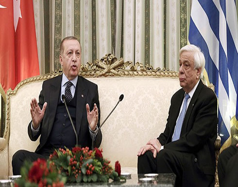 أردوغان يدعو من اليونان لتحديث اتفاقية لوزان ويأمل بوضع الماضي جانباً