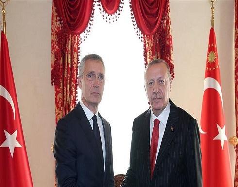 أردوغان وستولتنبرغ يبحثان العلاقات مع الناتو وشرق المتوسط