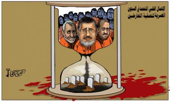الإهمال الطبي المتعمد في السجون المصرية