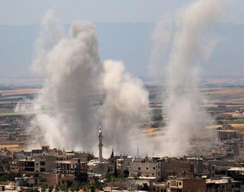 مقتل 6 مدنيين بقصف النظام السوري لمناطق خفض التصعيد