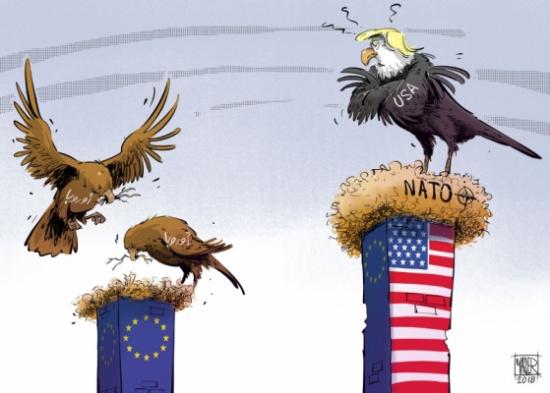 ترامب والاتحاد الأوروبي