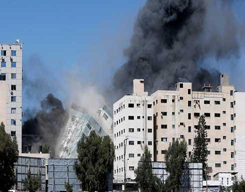"""""""العفو الدولية"""" تدعو للتحقيق بقصف الاحتلال لبرج الجلاء ومنزل بغزة"""
