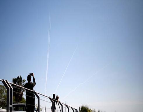 سقوط صاروخين أطلقا من غزة على غلاف القطاع