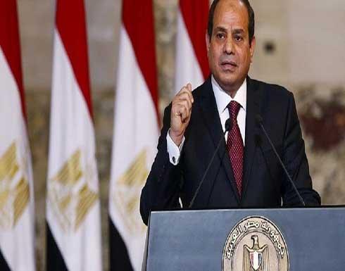 السيسي: يجب خروج كل القوات الأجنبية من ليبيا