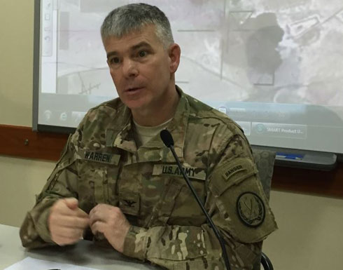 وارن: التحالف درب 20 ألف جندياً عراقياً