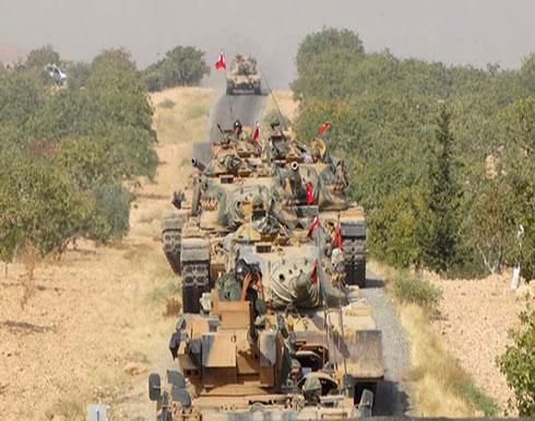 الجيش التركي يدفع بتعزيزات على الحدود مع سوريا