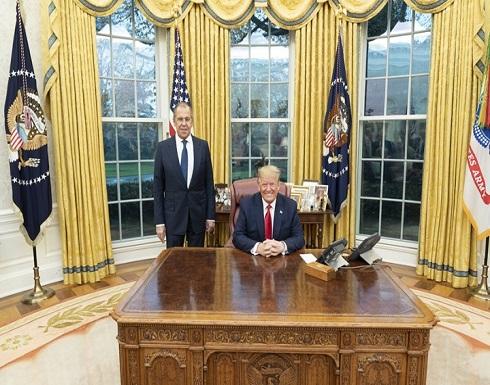 ترامب باجتماعه مع لافروف: لا تتدخلوا في انتخاباتنا