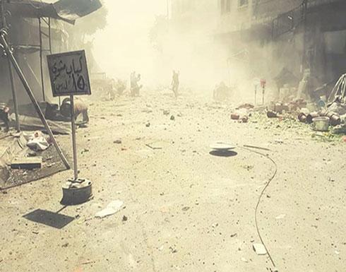 3 قتلى بقصف الطيران لريف إدلب واشتباكات عنيفة بريف المعرة
