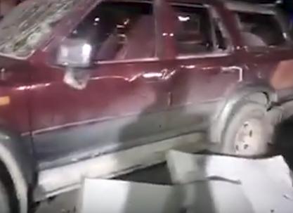 شاهد .. انفجار سيارة مفخخة بالموصل