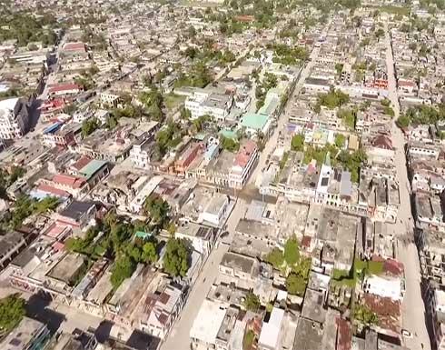 شاهد : صور جوية للدمار الذي خلفه زلزال هايتي