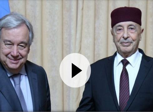 ليبيا: تصعيد عسكري على مشارف العاصمة طرابلس واجتماع طارئ لمجلس الأمن