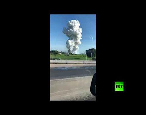 انفجار ألعاب نارية في المكسيك يودي بحياة 16 شخصا على الأقل
