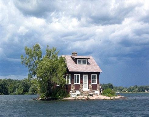 تعرف على أصغر جزيرة في العالم..في حجم ملعب تنس