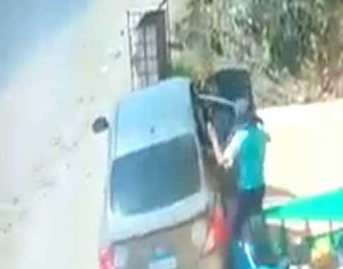 كاميرات مراقبة توثّق اختطاف طفل في مصر .. بالفيديو