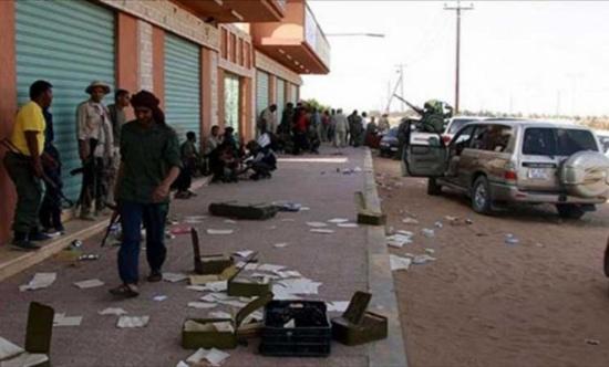 بعد خمسة أيام دموية.. الحياة تعود على استحياء إلى سبها الليبية