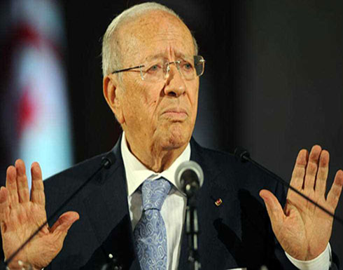"""الرئيس التونسي """"غير موافق"""" على التعديل الوزاري"""