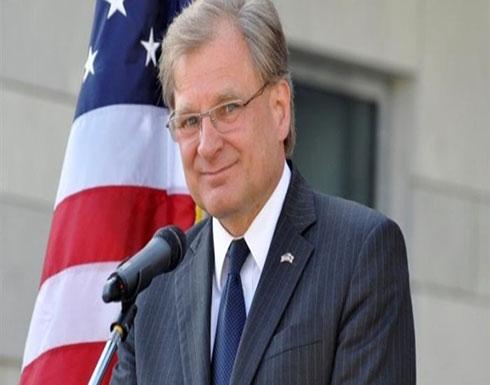 السفير الأمريكى بليبيا يحذر من تجدد العمليات العسكرية بطرابلس