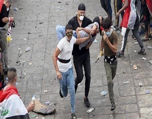 مقتل ثالث متظاهر برصاص قوات الأمن في بغداد خلال يومين .. بالفيديو