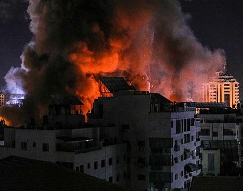 شهداء جراء غارات ليلية على غزة طالت منازل وجمعية خيرية