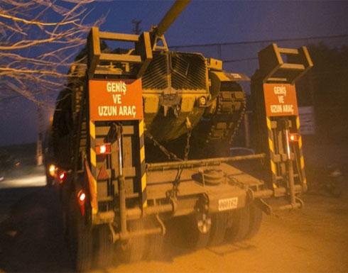 الجيش التركي يستهدف مواقع الأكراد في عفرين لليوم الثاني