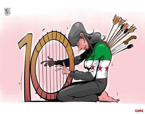 سوريا.. العشرية الدامية
