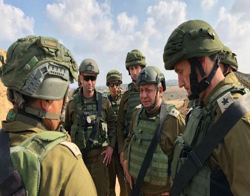 رئيس الأركان الإسرائيلي يتفقد الوضع في غزة