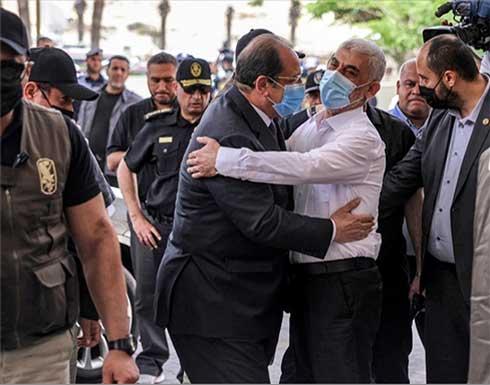"""""""حماس"""" تكشف تفاصيل اجتماع قادتها بوزير المخابرات المصري"""