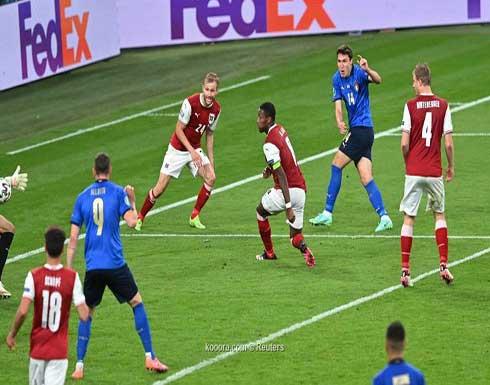 بالصور.. إيطاليا تقصي النمسا وتتأهل لربع نهائي اليورو