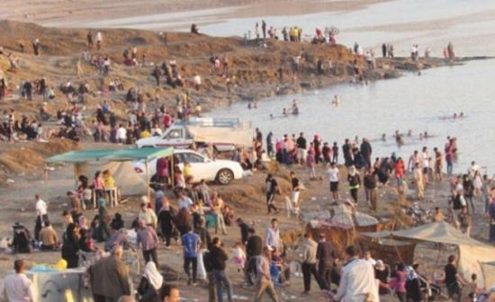 السوالقة : السياحة في البحر الميت آمنة