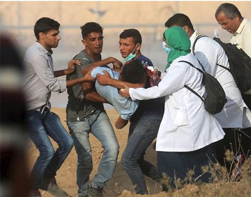 استشهاد طفل متأثرا بجراحه بغزة