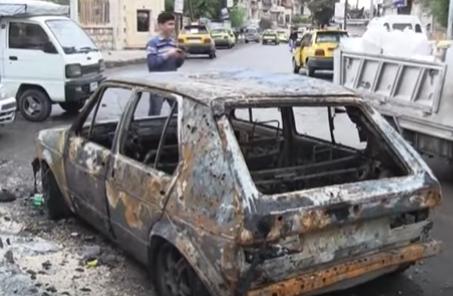 شاهد .. تبادل للقصف بين الفصائل وقوات النظام السوري في شمال سوريا