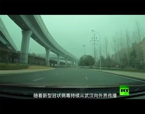 """شاهد : لقطات من داخل معقل فيروس """"كورونا"""" القاتل في الصين"""