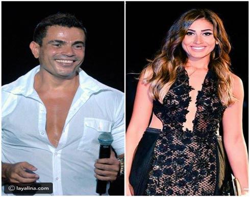 صورة| صديقة عمرو دياب ودينا الشربيني تشعل الجدل مجدداً حول علاقتهما!