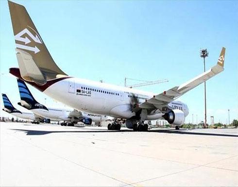 استئناف الملاحة بمطار معيتيقة بعد توقف لساعات جراء قصف حفتر