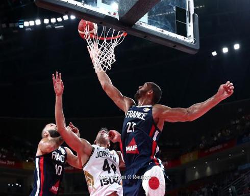 خسارة قاسية للأردن أمام فرنسا بمونديال السلة
