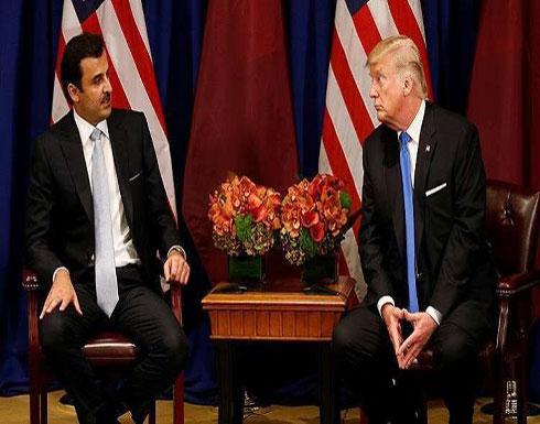أمير قطر يحتج لترامب على قراره حول القدس