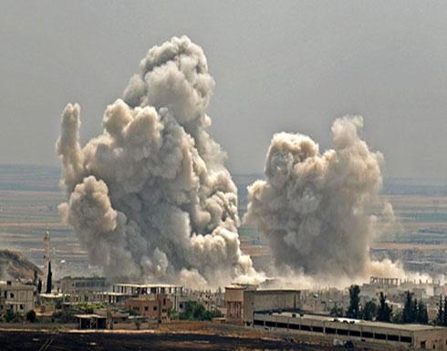 بالفيديو : معارك بريف حماة وغارات للنظام وروسيا شمال غرب سوريا