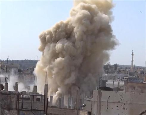 هجوم للنظام بريف دمشق وغارات على حلب وإدلب