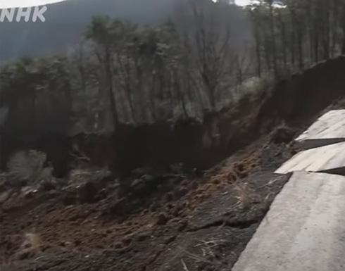 شاهد : آثار الدمار الذي خلفه زلزال اليابان