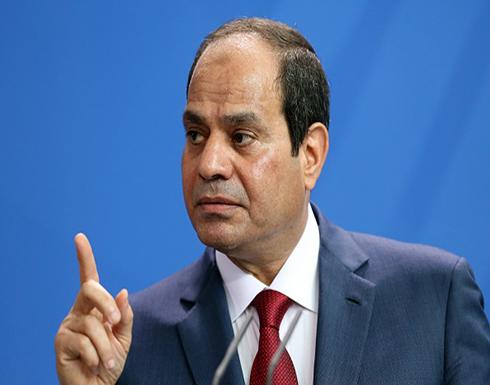 السيسي يقول إنه يمكن إجراء استفتاء على بقائه في الحكم