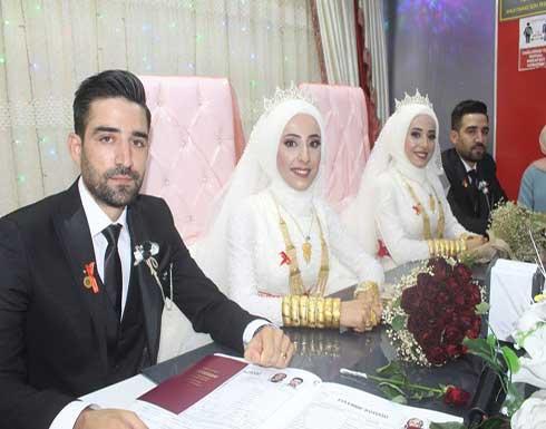 بالفيديو.. زواج شقيقين توأم من أختين توأم في تركيا