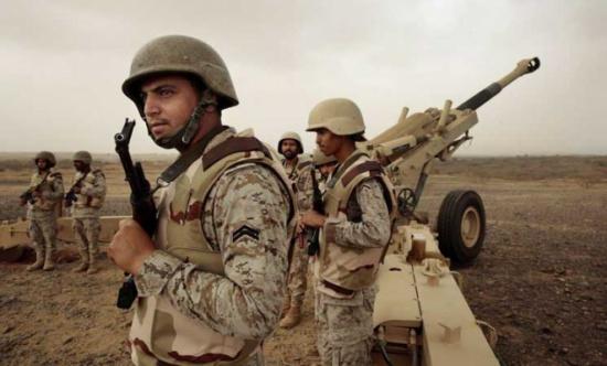 مقتل جندي سعودي بمعارك مع الحوثيين على الشريط الحدودي
