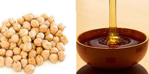 العسل مع الحمص..فوائد للصحة والمزاج