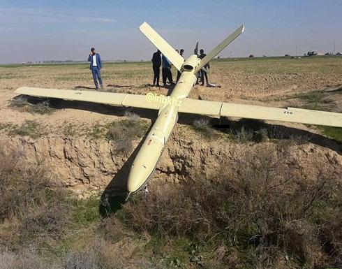 شاهد : هبوط اضطراري لطائرة مسيرة إيرانية جنوب غربي إيران