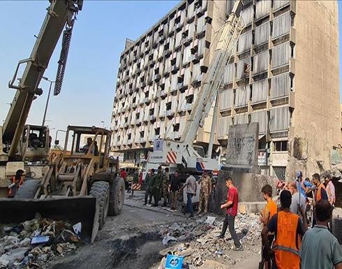 """الأمن العراقي يزيل خيام الاحتجاج ويعيد فتح ساحة """"التحرير"""""""