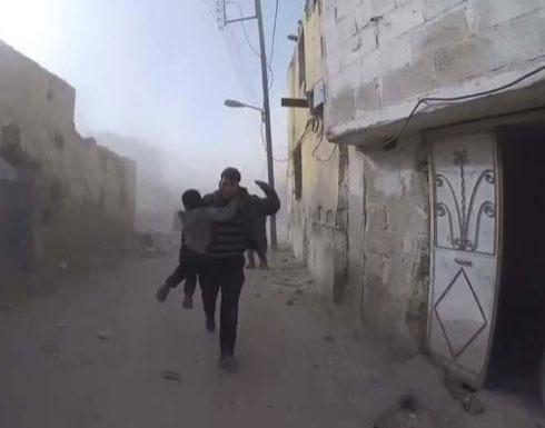 الأمم المتحدة تتوقع إجلاء مدنيين من غوطة دمشق