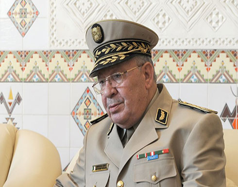 """بالفيديو : رئيس أركان الجزائر يتحدث عن """"دسائس"""" و""""مخططات خبيثة"""""""
