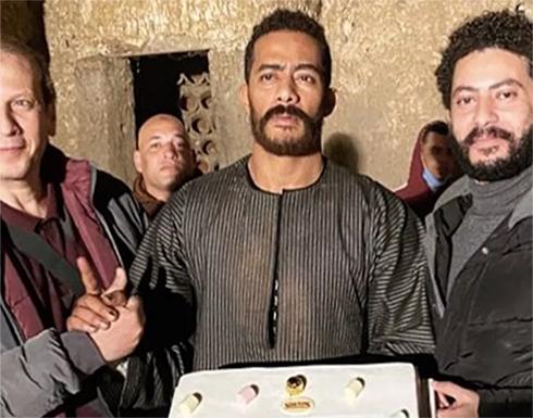 """محمد رمضان يبدأ العد التنازلي لعرض مسلسله """"موسى"""" في رمضان"""