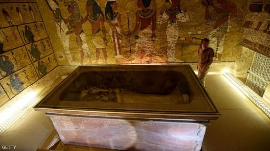 """مسح جديد يحيي حلم """"اكتشاف القرن"""" بمقبرة توت عنخ آمون"""